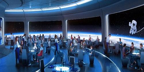 Segera dibuka restoran bertema luar angkasa.(Fooandwine)