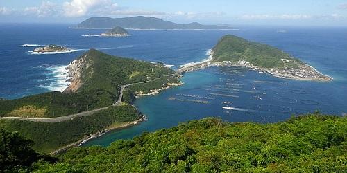 Pulau Okinoshima.(Independent)