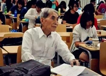 Zhao Muhe saat mengikuti kuliah S3.(Nextshark)