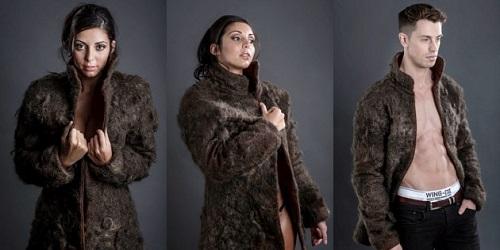 Mantel bulu kontoversial.(Wowkeren)