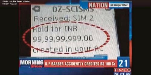 Rekening bank Munna.(Times Of India)
