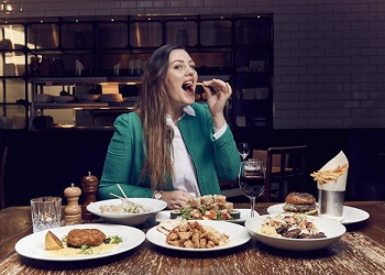Sophie Hardy, official eating officer.(inews.co.uk)