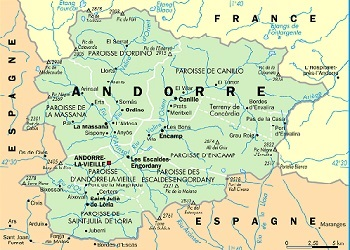 Andorra dalam peta.(bbs)