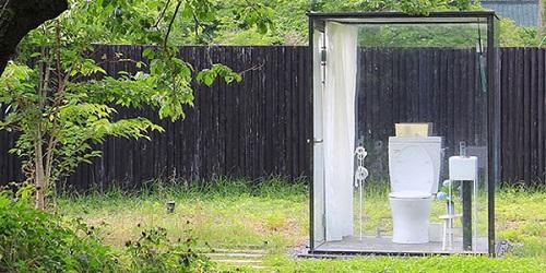 Toilet yang menyatu dengan alam.(dreamers)