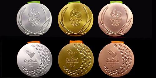 Medali pada Olimpiade 2016.(bbs)