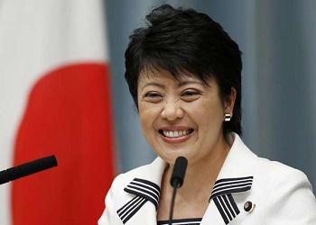 Menteri Pemberdayaan Wanita Jepang, Haruko Arimura.(bbs)
