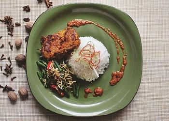 Nasi Ayam Percik.(asri)