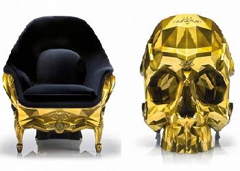 Kursi emas tengkorak.(bbs)