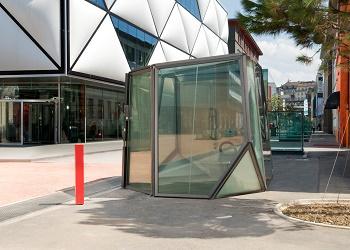 Toilet Transparan, Swiss.(bbs)