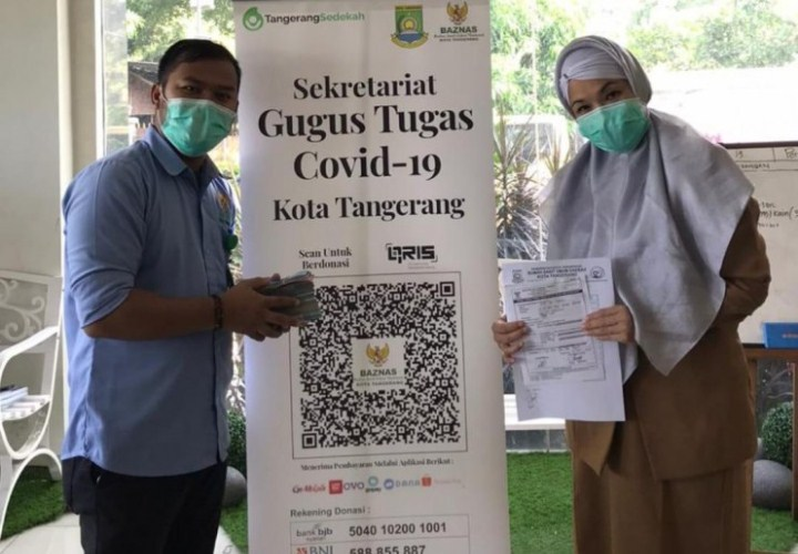 Begini Kemudahan Bayar Zakat dan Sedekah di Kota Tangerang ...