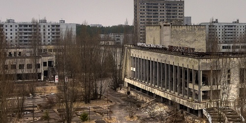 Kota Pripyat.(Pinterest)
