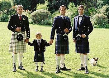 Kilt, Skotlandia.(The Scotland Kilt Company)