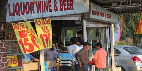 Salah satu kedai minuman beralkohol di Kerala.(Indian Express)