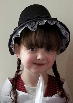Cerys Small.(Daily Mail)
