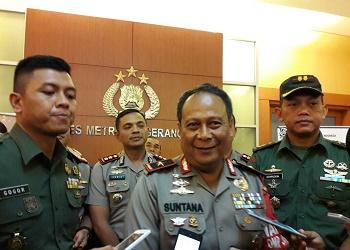 Wakapolda Metro Jaya Brigjen Pol Suntana usai melakukan mediasi.(shy/tia)