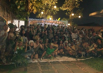 Jungle Night Party Soll Marina Hotel Serpong.(asri)