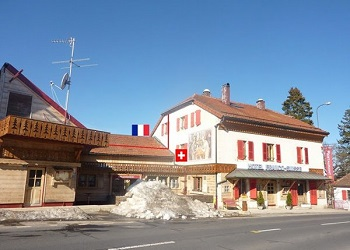 Hotel Arbez Franco-Suisse.(bbs)