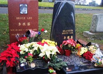Makam Bruce Lee.(bbs)