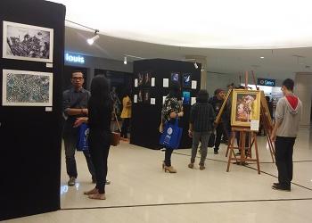 Mahasiswa DKV UMN Gelar Pameran Nusakarya Unity di Mall @Alam Sutera Tangerang.(asri)