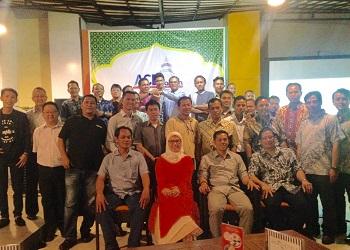 Halal bihalal ACE Provinsi Banten.(asri)