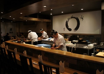 Sushi Kaji Restaurant, Toronto.(bbs)
